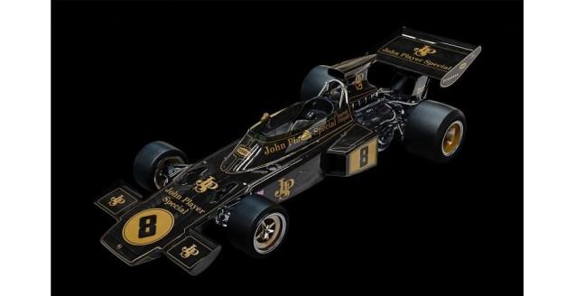 Lotus 72D 1972 British GP Emerson Fittipaldi Black 1:8 Pocher HK114