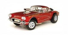 Chevrolet Corvette- Big John Mazmanian 1961 Red 1:18 Precision Miniatures PRM-14