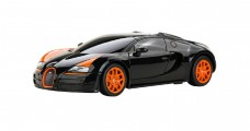 Bugatti Grand Sport Vitesse Black 1:24 RC Rastar 47000