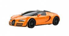 Bugatti Grand Sport Vitesse Orange 1:24 RC Rastar 47000