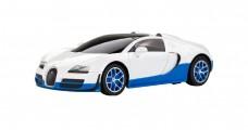 Bugatti Grand Sport Vitesse White 1:24 RC Rastar 47000