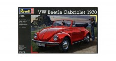 VW Beetle Cabriolet 1970 Kit Revell 07078