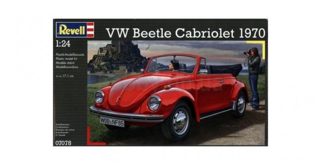 VW Beetle Cabriolet 1970 Kit Revell 07078