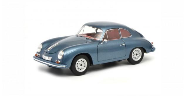 Porsche 356 A Carrera Coupe Edition 70 Jahre Porsche Blue Metallic 1:18 Schuco 450031200