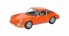 Porsche 911 S 2.4 Coupe Year 1973 Orange 1:18 Schuco 450035300
