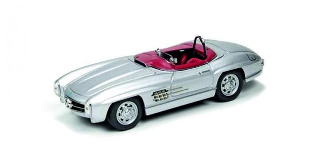 Mercedes-Benz 300 SLS 1955 Silver 1:43 Schuco 450247500