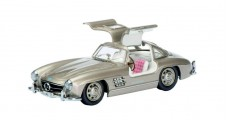 Mercedes-Benz 300 SL Coupe Pearl Grey 1954 1:43 Schuco 450247800