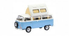 VW T2a Westfalia Camper Bus Blue White 1:43 Schuco 450348600