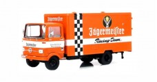 Mercedes-Benz LP 608 Jägermeister Truck Orange 1:43 Schuco 450360000