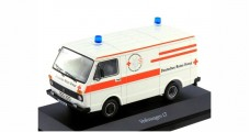 VW LT Transporter Red Cross Disaster Search Rescue White 1:43 Schuco 450368401