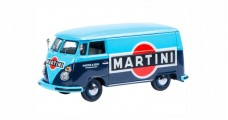 Volkswagen T1 Van Martini Blue Light Blue 1:43 Schuco 450369000