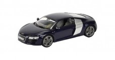 Audi R8 Coupe Blue 2012 1:43 Schuco 450750200
