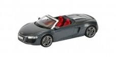 Audi R8 Spyder Daytona Grey 1:43 Schuco 450752300