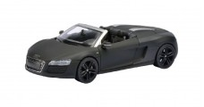 Audi R8 Spyder 2012  Concept Matt Black 1:43 Schuco 450752400