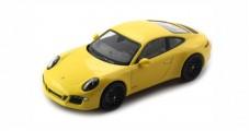 Porsche 911 (991) Carrera GTS 2014 Yellow 1:43 Schuco 450757200