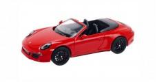 Porsche 911 (991) Carrera 4 GTS Cabriolet 2014 Red 1:43 Schuco 450758600