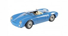 Porsche 550 Spyder Blue 1:43 Schuco 450886500