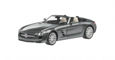 Mercedes-Benz SLS AMG Roadster Grey 1:43 Schuco B66960036