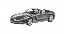 Mercedes-Benz SLS AMG Roadster Grey 1:43 Schuco B66960036