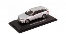 Mercedes-Benz E-Klasse T-Model S212 Avantgarde Silver 1:43 Schuco B66962435