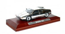 BMW M1 Chrome Finish 1:43 Silver Cars Collection 40220569