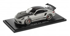 Porsche 911 (991 II) GT3 RS Weissach Package Chalk Grey / Black with Showcase 1:18 Spark WAP0211550J