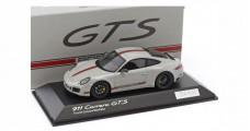 Porsche 911 (991) Carrera GTS Grey / Red 1:43 Museum Spark WAX02020055