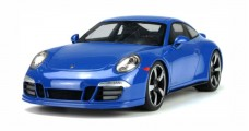 Porsche 911 (991) GTS Club Coupe Year 2015 blue 1:18 Spark WAX02100006