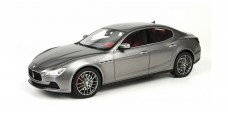 Maserati Ghibli Grey Silver 2013 Top 1:18 Marques TOP08A