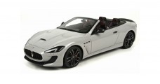 Maserati GranCabrio MC Grey Silver 2014 Top 1:18  Marques TOP13C