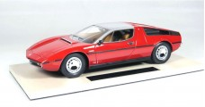 Maserati Bora 1977 Resin Red Top 1:18 Marques TOP25A