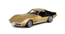 Chevrolet Corvette Astrovette apollo XII Gold 1969 1:43 TrueScale TSM144317