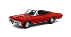 Chevrolet Impala 1967 Convertible Red 1:43 TrueScale TSM144322
