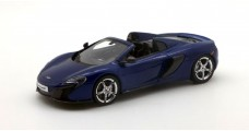McLaren 650S Spider Blue 1:43 TrueScale TSM144362