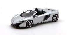 McLaren 650S Spider Silver 1:43 TrueScale TSM144365