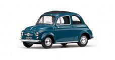 Fiat 500D 1964 Blue 1:43 Vitesse 24507