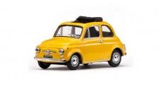 Fiat 500F 1965 Yellow 1:43 Vitesse 24508