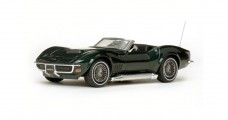 Chevrolet Corvette Open Convertible 1968 Green 1:43 Vitesse 36237