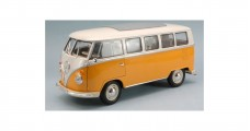 VOLKSWAGEN T1 MICROBUS 1963 Yellow 1:18 Welly 12531W