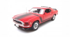 Ford Mustang Boss 302 1970 Red 1:18 Welly 18002RED