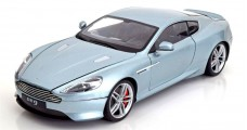 Aston Martin DB9 Silver 1:18 Welly 18045W