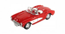 Chevrolet Corvette 1957 Red 1:24 Welly 29393W
