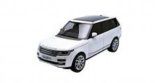 Land Rover Range Rover White 2013 1:18 Welly GTA 11006W