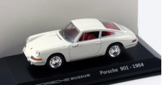 Porsche 901 Year 1964 White Porsche Museum 1:43 Welly MAP01990113