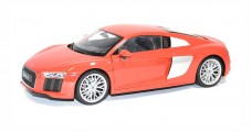 Audi R8 V10 2016 Red 1:18 Welly WEL18052RED