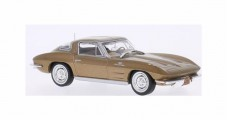 Chevrolet Corvette C2 Stingray 1963 Gold 1:43 WhiteBox WB170