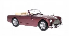 Aston Martin DB 2-4 MK III DHC Dark Red Metallic 1:18 WhiteBox WB18001