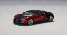 Bugatti EB 16.4 Veyron Red / Black 1:64 AUTOart 20901