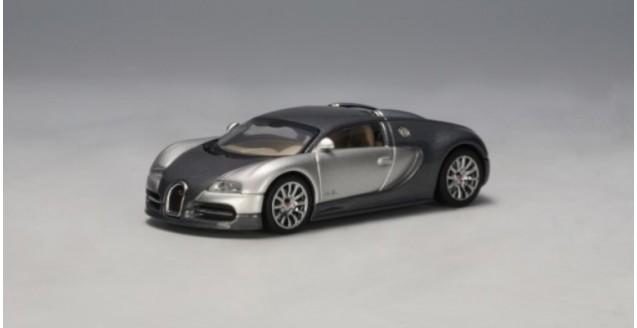 Bugatti EB 16.4 Veyron Grey / Silver 1:64 AUTOart 20902