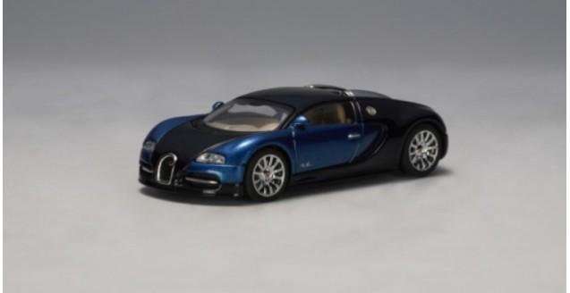 Bugatti EB 16.4 Veyron Blue / Black 1:64 AUTOart 20903